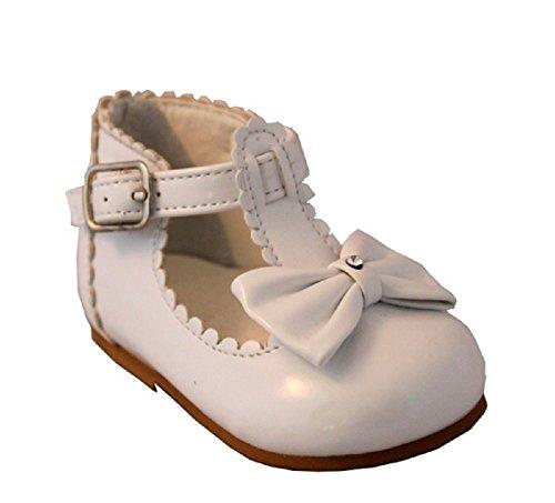 Mellow Ser, Bebê Menina Walker Sapatos Creme Branco Uk 2 (eur 18)