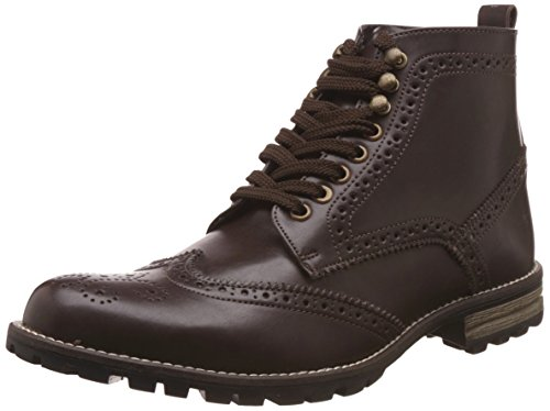 Knotty Derby Men's Diggory Brogue Brown Boots -7 UK/India (41 EU)