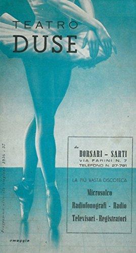 Teatro Duse. Stagione teatrale 1956-57