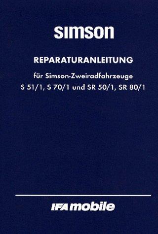 Reparaturanleitung für Simson-Zweiradfahrzeuge