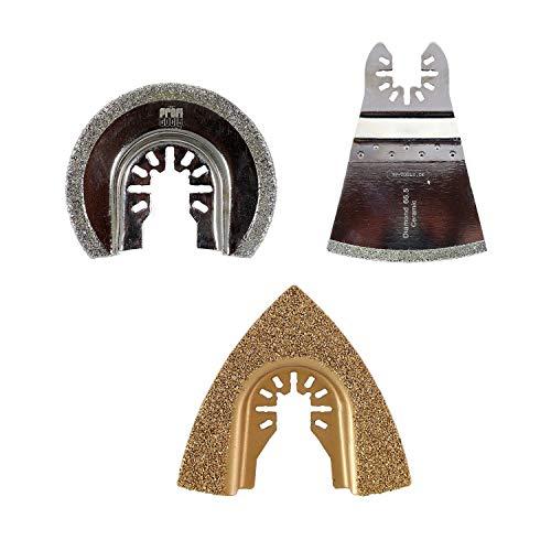 Multifunktionswerkzeug Set Diamant Raspel für AEG, AREBOS, Batavia, Craftsman