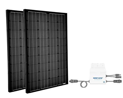 Mini Photovoltaikanlage 240Wp | Plug & Play Hausnetz-Direkteinspeisung Steckdose