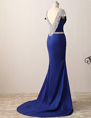 HUINI Damen Modern Kleid Lemon_Green