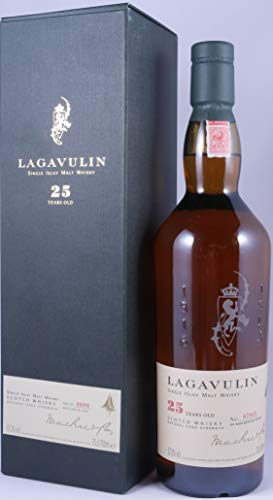 Lagavulin 1977 25 Years Single Islay Malt Whisky limited Special Release - one of 9000 bottles