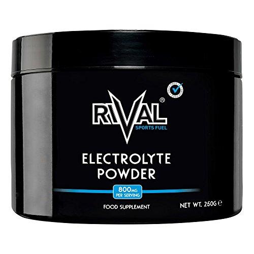 Rivale Sports Fuel Electrolyte Powder 250g Zuckerfrei, Vegan, Keto-freundlich - 312 Portionen pro Wanne