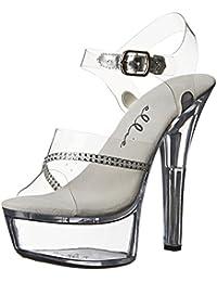 Ellie Shoes - Sandalias de vestir para mujer negro negro 45.5 EU uQLEMFDA