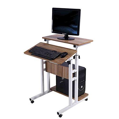 Zhuozi FUFU Tische Laptop Tabelle einstellbare tragbare Sofa Tisch Drop-Blatt-Tabelle - Klammern Sie Auf Blatt Schreiben Auf