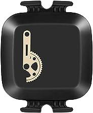 CooSpo Sensore Cadenza velocità Bluetooth Ant + sensore RPM per Bicicletta Compatibile con Computer da Ciclism