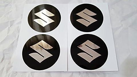 NEU 4 x 55 mm Durchmesser SUZUKI Rad Mitte Kappen Aufkleber Self Adhesive Emblem Decals Billig …
