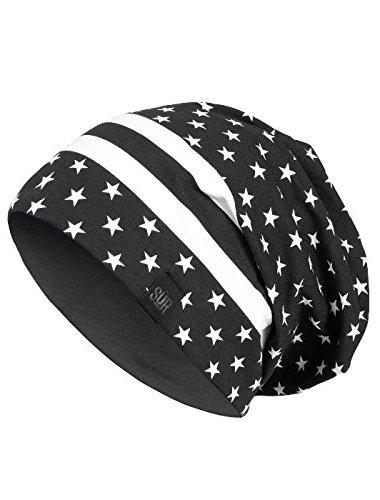 Masterdis SUR Street Jersey Reversible Beanie, Farbe:paisley/black;Größe:one-size