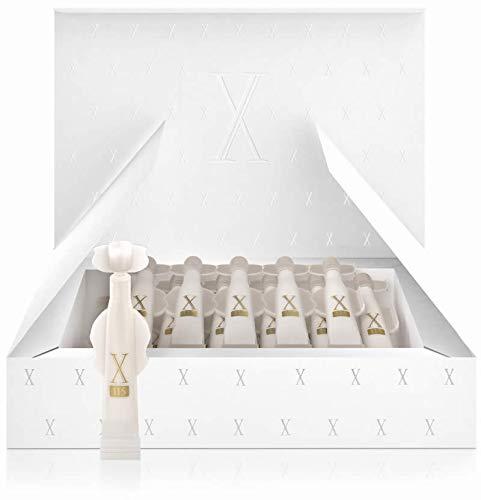 Crema antiarrugas Mujer - 15 x 2ml Vial de Dosis única - Crema X115® New Generation Cream For Woman - Fórmula Completa - 5 Azziones - HIDRATANTE Con ácido hialurónico, colágeno hidrolizado, alantoína y pantenol - EFECTO LIFTING Istantaneo con GABA y hexapéptidos - TRATAMIENTO REDENSIFICANTE y ANTIOXIDANTE, Con mantequilla de karité, aceite de argán, aceite de aguacate, vitamina e, vitamina a y vitamina C - ANTI MANCHA - Con Melanostatine 5
