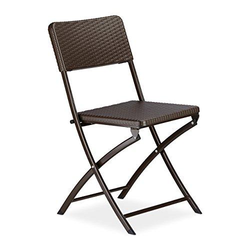 Gartenstühle klappbar  ᐅ Balkonstuhl Polyrattan – wählen Sie aus den Bestsellern aus ...