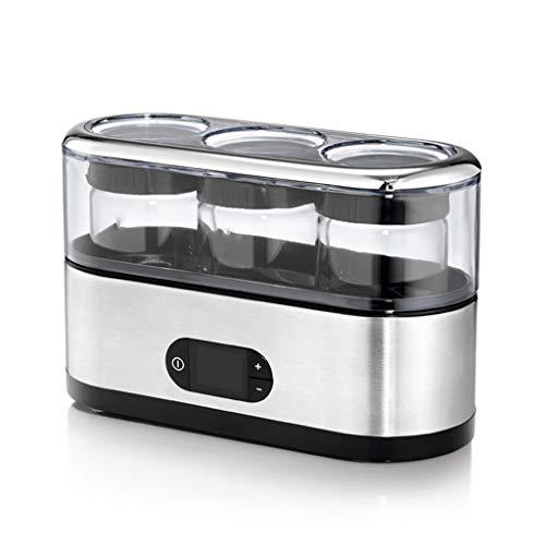 ZSQAI Máquina de Yogurt, máquina de fermentación casera de Yogurt casera, pequeña Taza de dispensación portátil automática