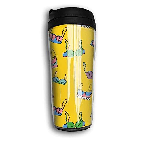 Unterwäsche Reise Kaffeebecher Edelstahl gefüttert Kaffeetasse (Como Unterwäsche)