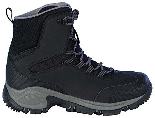 Columbia Womens Backramp Waterproof Techlite Snow Boots-Black/Charcoal Black/Charcoal