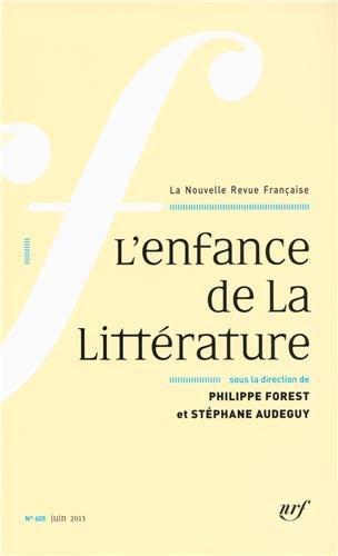 L'enfance de la littérature par Collectifs