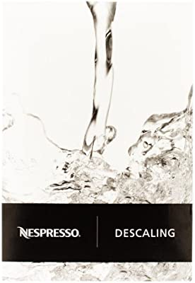 Nespresso - Descalcificador Descaler 3035/CBU-2 para los modelos Essenza, Lattissima, Cube, Citiz, Pixie – Dos kits para descalcificar