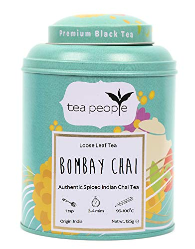 Tea People Bombay Chai Loose Tea in a Tin Caddy 125g