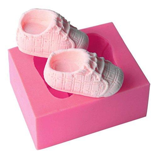 Formen Baby Schuhe (Albeey Baby Schuhe Fondant Formen Silikon Kuchenform)