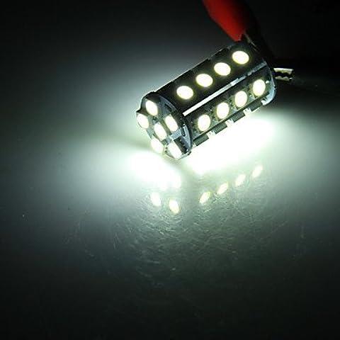 G4 5W 30x5050SMD 270LM 3000-3500K blanco cálido Bombilla LED para el coche (12V DC) ( Color de Luz : Blanco Frío