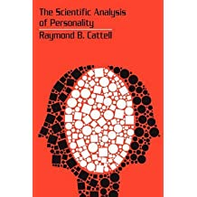 [(The Scientific Analysis of Personality)] [By (author) Raymond B. Cattell] published on (December, 2009)