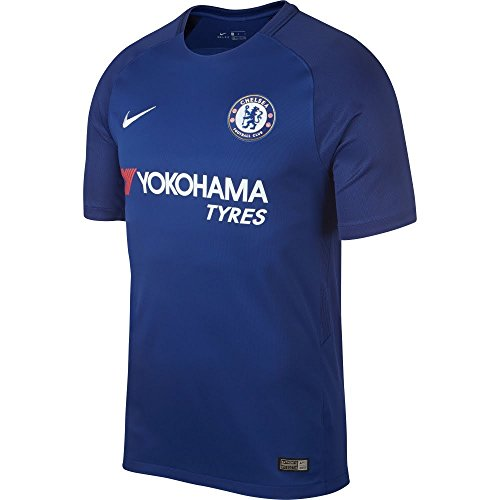 Nike Chelsea Home Authentic Vapor Match Jersey 2017/2018, Azul