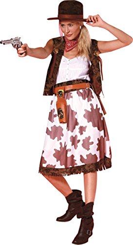Generique - Disfraz de Vaquera Mujer Talla única (40)
