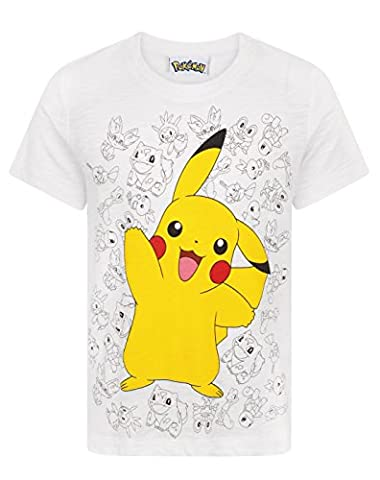 Pokemon Pikachu Wave Boy's T-Shirt (9-10 Years)