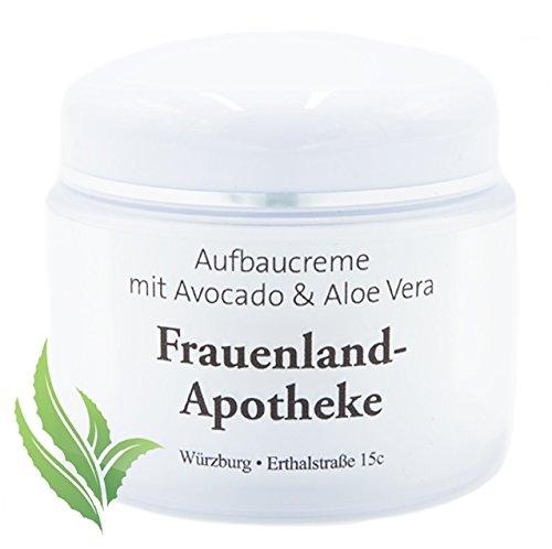 Aufbaucreme fürs Gesicht mit Avocado & Aloe Vera, Tagespflege & Nachtpflege, Avocado Creme fürs Gesicht, Körper, Augen - verbessert die natürlichen Hautfunktionen