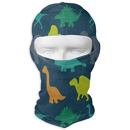 Vidmkeo Dinosaur Through The Brick Wall Full Face Masks UV Balaclava Hood Ski Sports Cap Motorcycle Neck Warmer Tactical Hood for Cycling Outdoor Sports Hiking ()