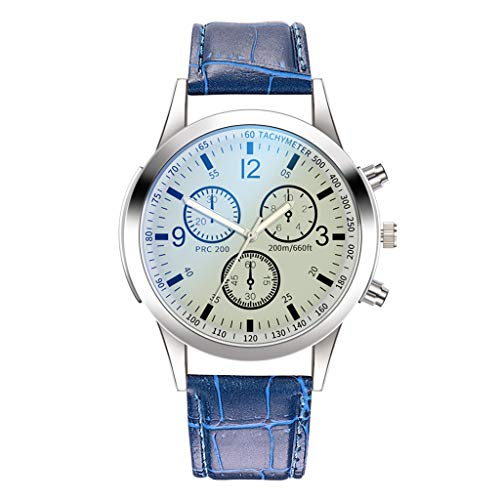 Luckhome Herrenuhr Ultradünne Armbanduhren für Männer Business Casual Mode Kleid Luxusuhren Quarzuhr Edelstahl Zifferblatt Casual Armband Uhr Männeruhr(G)