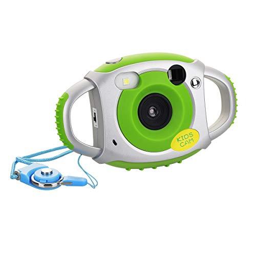 Tyhbelle Digital Kamera für Kinder Kinderkamera mit Wiederaufladbare Batterien 500 Millionen Pixel 1,77-Zoll-Farbbildschirm (Grün)