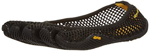 Vibram FiveFingers Damen VI-B Hallenschuhe, Schwarz (Black), 42 EU (Frauen Cross-training Schuhe)