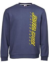 Santa Cruz Suéter Strip Crew Vintage Azuloscuro