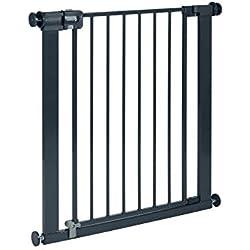 Safety 1st Barriere U-pressure Easy Close Metal Black