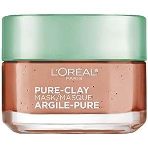 L'Oreal Paris Pure Clay Mask, Exfoliate & Refine Pores, 48g