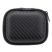 YSINFOD Mini Camera Storage Bag Travel Headset Carrying Storage Bag Handy Travel Boxes Battery Protective Box Waterproof Organiser
