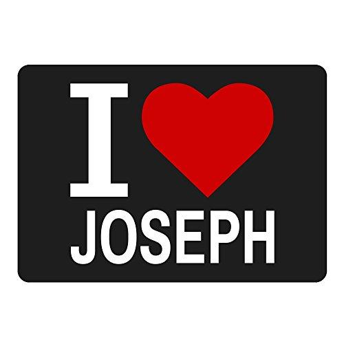 tappetino per mouse Classic I Love Joseph NERO