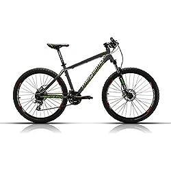 Megamo Natural 50 Bicicleta de Montaña, Hombre, Gris, L