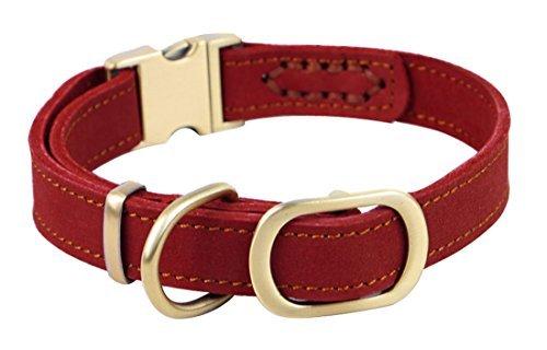 Rantow handgemachte justierbare Haustier-Hundehalsband 11.9