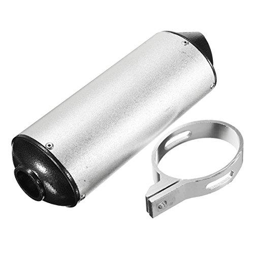 YONGYAO 28mm Silenciador Tubo De Escape + Abrazadera De Tierra El Hoyo...