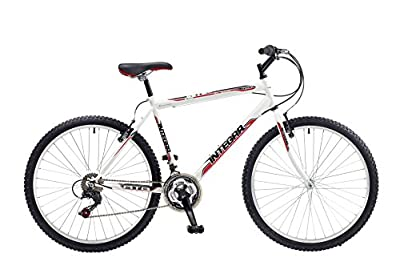 Integra Men's Matrix Rigid Mountain Bike - White, 19-Inch