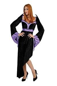 César - Disfraz de bruja para mujer, talla 38-4 (C198-001)