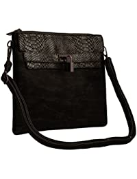 TAP FASHION Stylish PU Leather Women's Sling Bag With Adjustable Strap For Ladies And Girls.