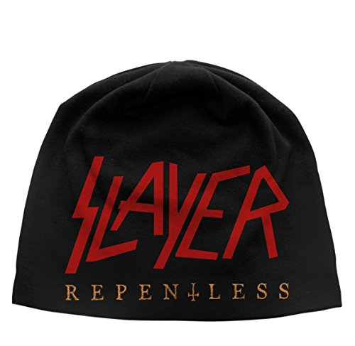 SLAYER REPENTLESS Beanie Hat/ Mütze Schwarz
