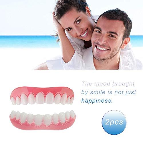 Provisorischer Zahnprothese Teeth Denture Whitening Veneers Komfort Zähne Kosmetikfurnier Wiederverwendbares Eine Gresse Passt Allen