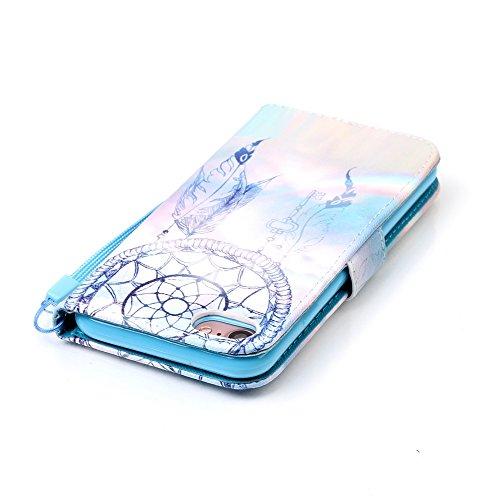 XFAY HX439【Eine Vielzahl von Mustern 】iPhone 7plus Handyhülle Case für iPhone 7plus Hülle im Bookstyle, PU Leder Flip Wallet Case Cover Schutzhülle für Apple iPhone 7plus(5.5 Zoll) Schale Handyhülle C Farbe-13