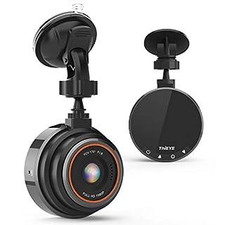 Dash Cam FHD 1080P, THIEYE Safeel Zero Autokamera Recorder Dash Cam für Fahrzeuge mit 170 ° WDR Bewegungserkennung, Parkmonitor, Loop-Aufnahme, Nachtsicht und G-Sensor Mehrweg
