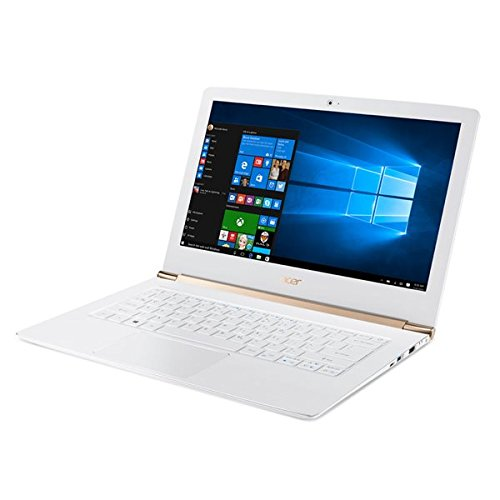 Acer - Aspire s 13 s5-371-760h - core i7 6500u / 2.5 ghz - win 10 home 64 bit - 8 gb ram - 256 gb ssd - 13.3 1920 x 1080 (full hd) - hd graphics 520 - wi-fi - blanco