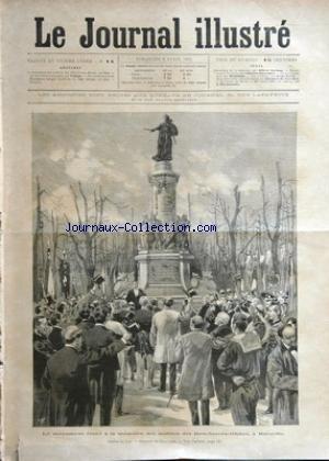 JOURNAL ILLUSTRE (LE) [No 14] du 08/04/1894